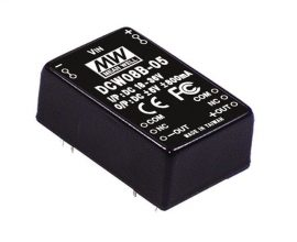 Mean Well DCW08A-12 8W/9~18Vin/±12Vout/335mA