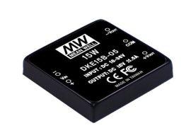 Mean Well DKE15A-05 15W/9~18Vin/±5Vout/1500mA