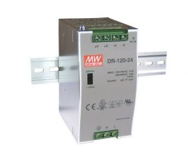 Mean Well DR-120-24 120W/24V/0-5A