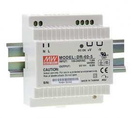 Mean Well DR-60-5 32W/5V/0-6,5A