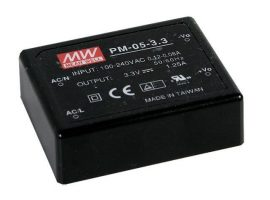 Mean Well PM-05-3.3 5W/3,3V/0-1,25A