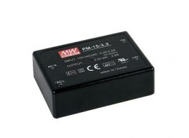 Mean Well PM-15-3.3 15W/3,3V/0-3,5A