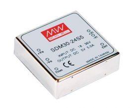 Mean Well SDM30-48S5 30W/36~72Vin/5Vout/5A