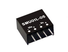 Mean Well SMU01N-05 1W/24Vin/5Vout/200mA