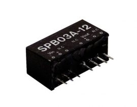 Mean Well SPB03C-12 3W/36~72Vin/12Vout/250mA