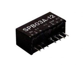 Mean Well SPB03E-12 3W/4,5~9Vin/12Vout/250mA