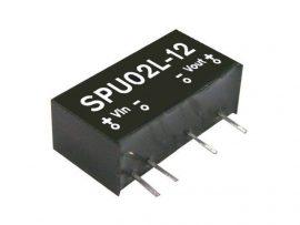 Mean Well SPU02N-12 2W/24Vin/12Vout/167mA